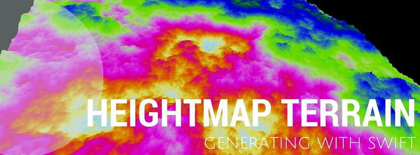 Generating heightmap terrain with Swift